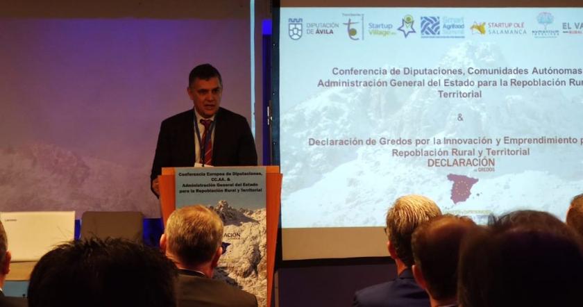 Digitanimal présent à la Conférence pour le Dépeuplement et la signature de la Déclaration de Gredos