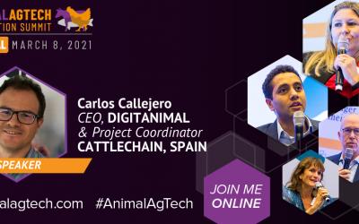 Digitanimal participe à l'événement de l'innovation animale AgTech
